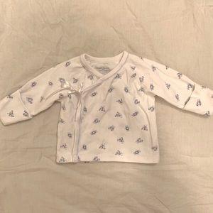 Ralph Lauren Shirts Tops 3m Baby Wrap Mitten Shirt Poshmark